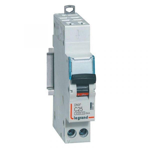 Disjoncteur Legrand DNX3 - Auto/Vis - 25A - Legrand - 406785