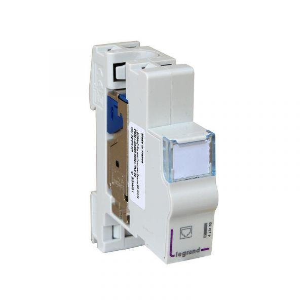 Module de brassage RJ45 Legrand pour coffret multimédia 413003 Legrand