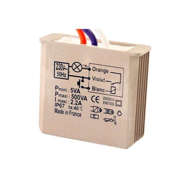 Télérupteur encastrable 500W - YOKIS - 5454050
