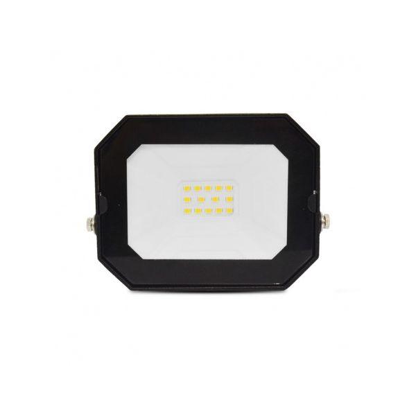 Projecteur Exterieur LED Plat Noir 10W 4000K sans câble 800331 Vision-EL