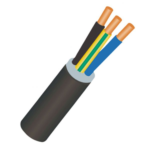 Câble RO2V 3G1,5 en 100m FIL026505 Bâtir Moins Cher