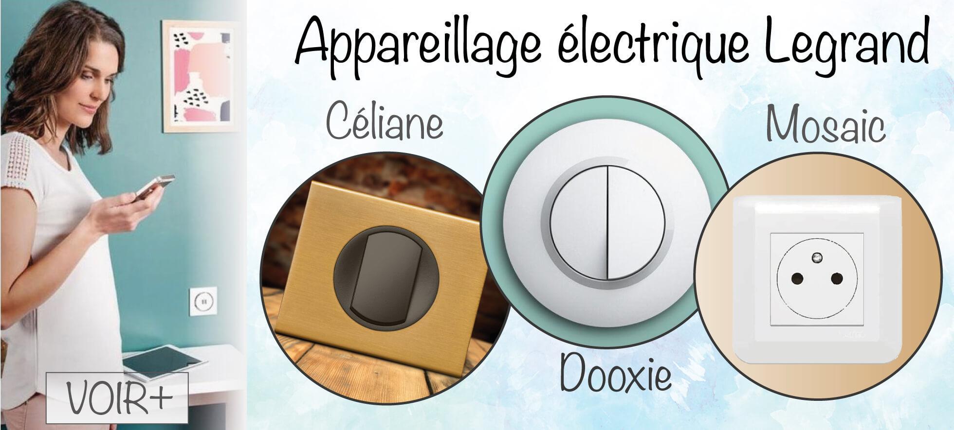 Appareillage électrique Legrand