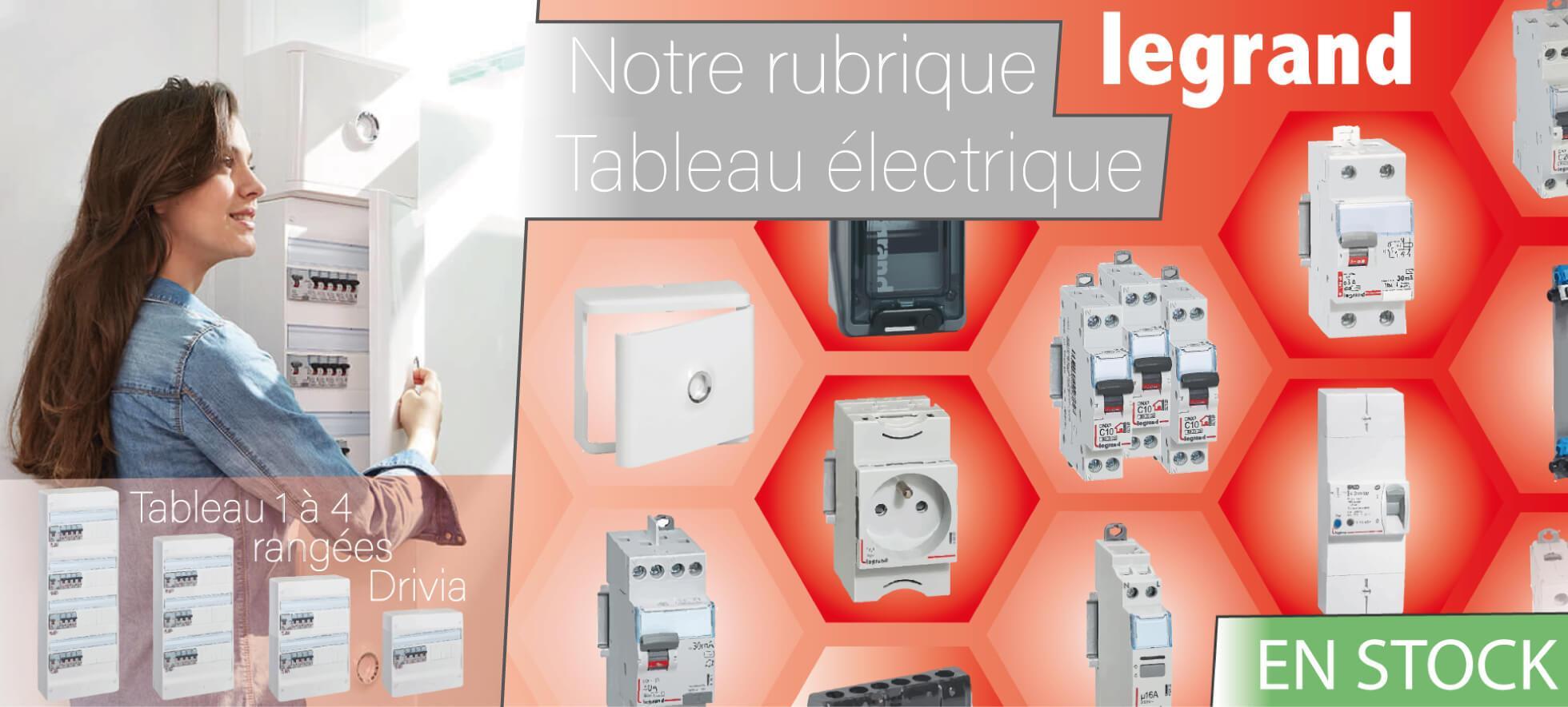 Tableau électrique Legrand