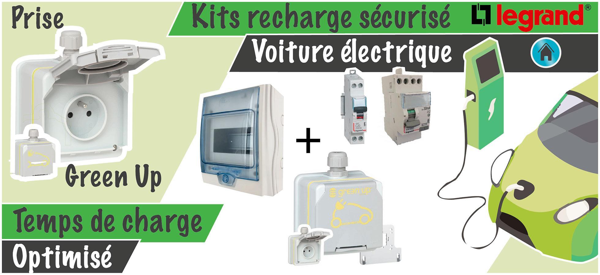 Kit recharge sécurisé Legrand