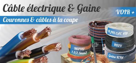 Cable electrique et gaine