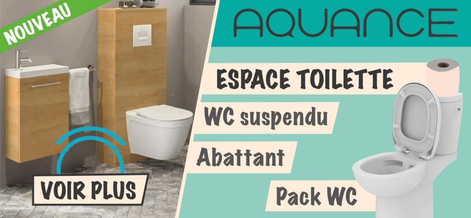 aquance espace toilette